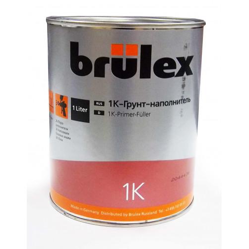 1К грунт-наполнитель серый Brulex (объем 1л)