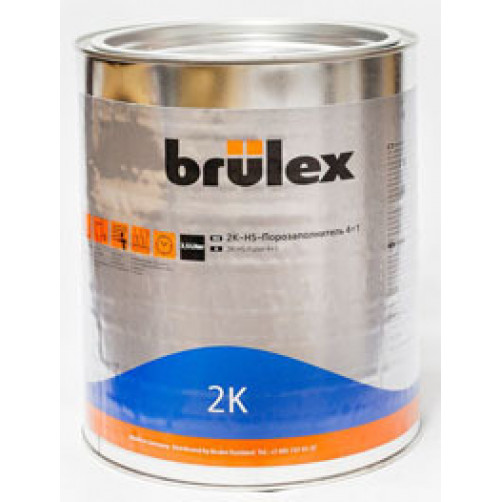2К HS Порозаполнитель 4+1 черный Brulex, объем 3,5л + 1л