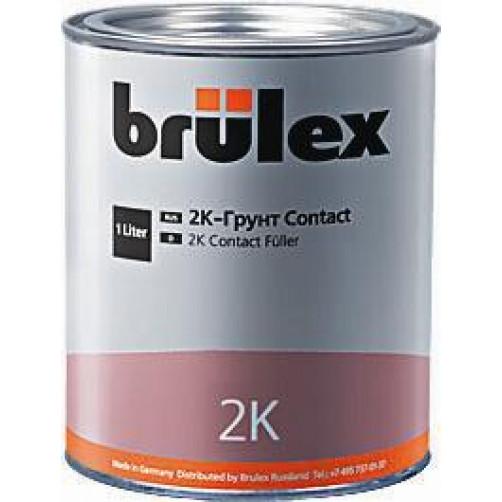 2К Грунт Contact с отвердителем Brulex, объем 1,0 литр + 0,5 литра