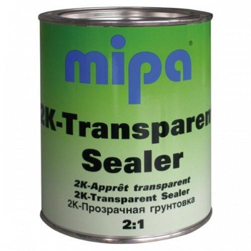 Transparent Sealer Грунт прозрачный + MS 25 отвердитель Mipa, объем 1л + 0,5л