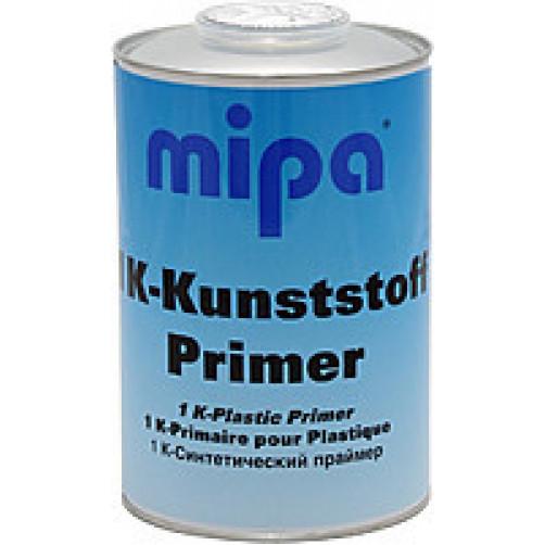 1K-Kunststoffprimer Грунт для пластика Mipa прозрачно-серебристый, объем 1л