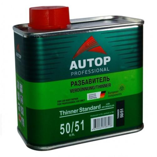 Tinner Standart 50/51, разбавитель стандарт акриловый AUTOP, уп. 0,5л