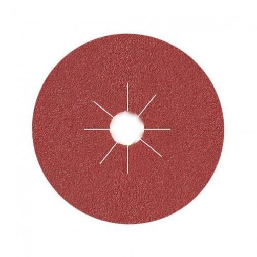 Диск фибровый шлифовальный Fiber Discs Alox D=125 мм, Р150