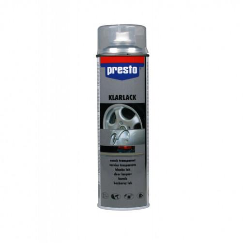 Лак акриловый бесцветный Presto / Престо, уп. 500мл