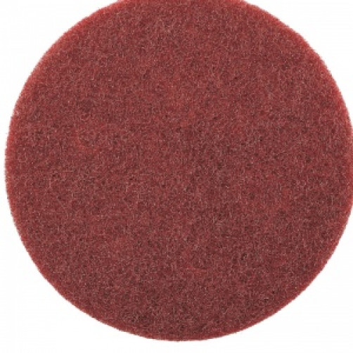 Нетканый абразивный матирующий круг AVF 320 (красный) диа. 150мм SMIRDEX (шт.)