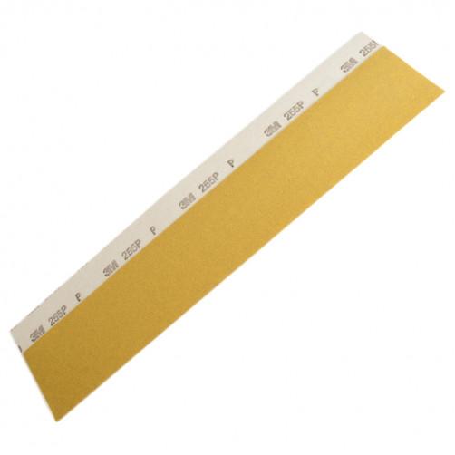Р180 Полоска для длинных шлифков 3М 255Р золотистая