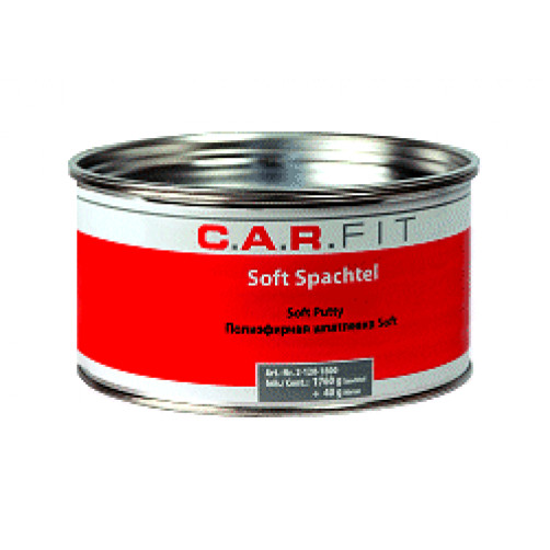 Car Fit Soft шпатлевка полиэфирная 1,8 кг