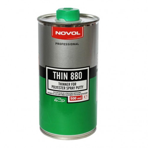 NOVOL THIN 880 разбавитель для жидкой шпатлевки SPRAY 0,5 л