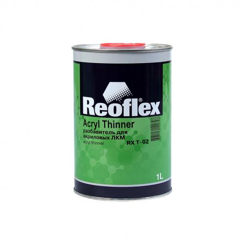 Разбавитель для акриловых ЛКМ Reoflex (медленный), уп. 1л