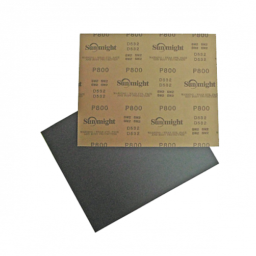 Sunmight наждачная бумага влагостойкая 230х280 мм, P100