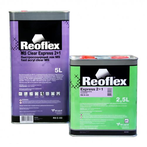 2К Лак акриловый автомобильный 2+1 Reoflex Express RX C-03 уп. 5+2,5л (комплект)