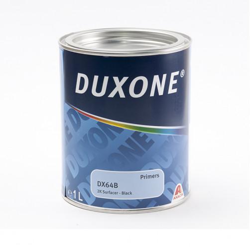 DX64 2К HS Грунт акриловый черный автомобильный Duxone, уп. 1л