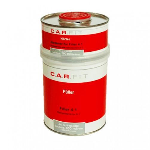 Car Fit грунт автомобильный (4:1) наполнитель, серый, 0,8+0,2 л