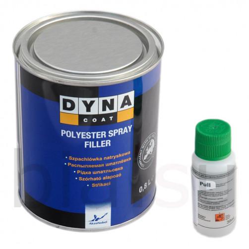 Шпатлевка Dynacoat (Дайна) распыляемая Spray Filler, уп.0.8 л