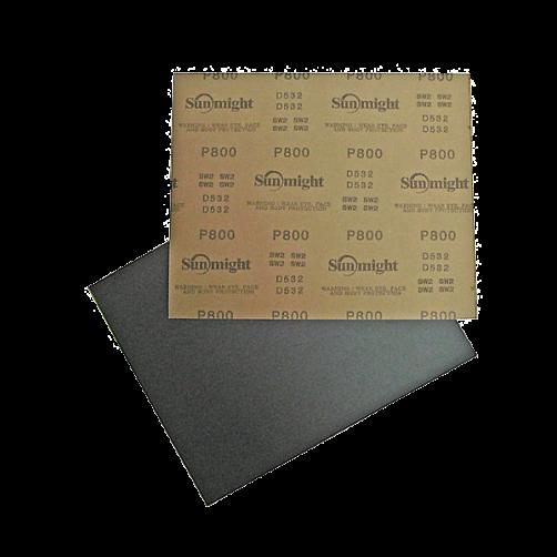 Sunmight наждачная бумага влагостойкая 230х280 мм, P80