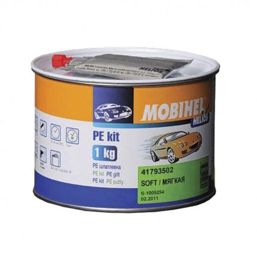 Шпатлевка мягкая автомобильная полиэфирная Mobihel Soft, уп. 1 кг