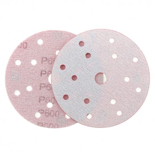 P 600 Абразивный круг IFILM Red ISISTEM, D=150мм, 15 отверстий
