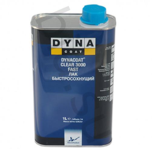 Лак Dynacoat (Дайна) Clear 3000 Быстросохнущий, уп.1 л