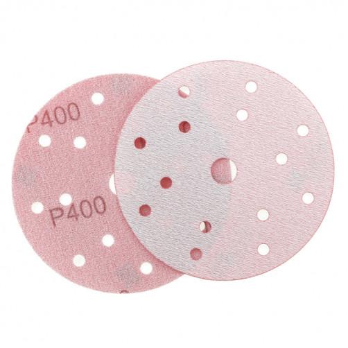 P 400 Абразивный круг IFILM Red ISISTEM, D=150мм, 15 отверстий
