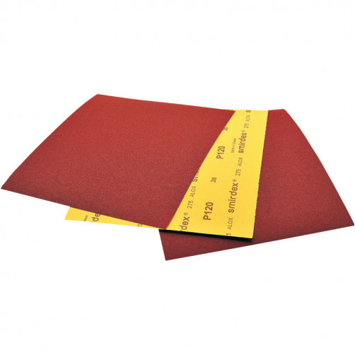 P 120 Водостойкая абразивная бумага SMIRDEX 275, 230*280мм