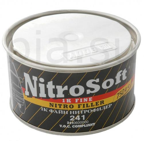 Шпатлёвка автомобильная нитроцеллюлозная BODY 241 NitroSoft, уп. 0,75 кг