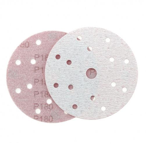 P 180 Абразивный круг IFILM Red ISISTEM, D=150мм, 15 отверстий