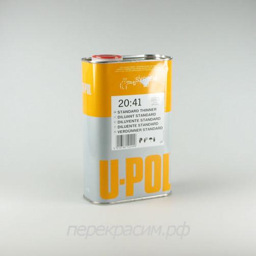 U-POL S2041 разбавитель для акриловых авто ЛКМ, стандартный, 1 л