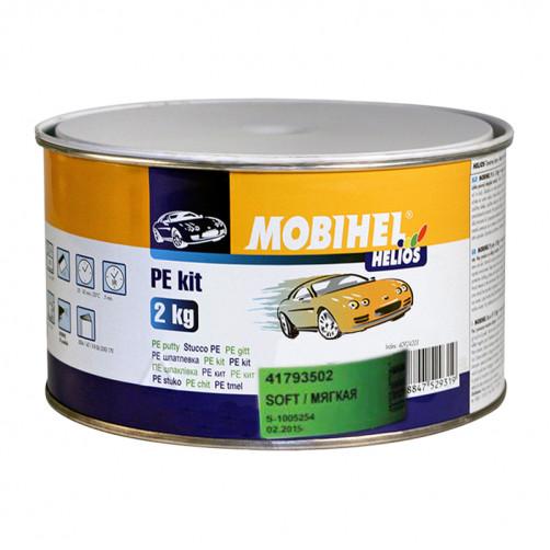 Шпатлевка мягкая автомобильная полиэфирная Mobihel Soft, уп. 2 кг