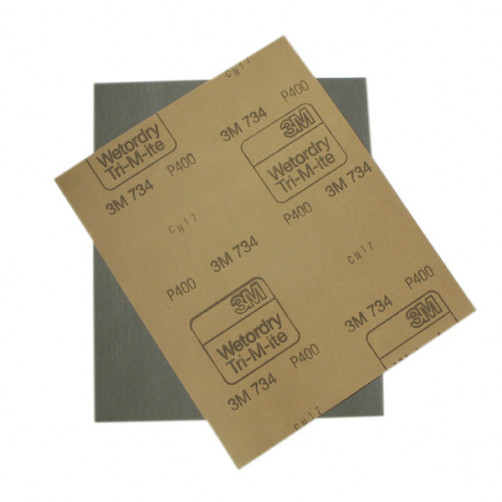 3М 01986 наждачная бумага влагостойкая 230х280 мм, P120