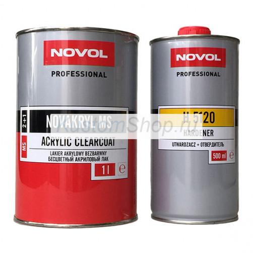 Novol лак автомобильный MS 1+0,5 л