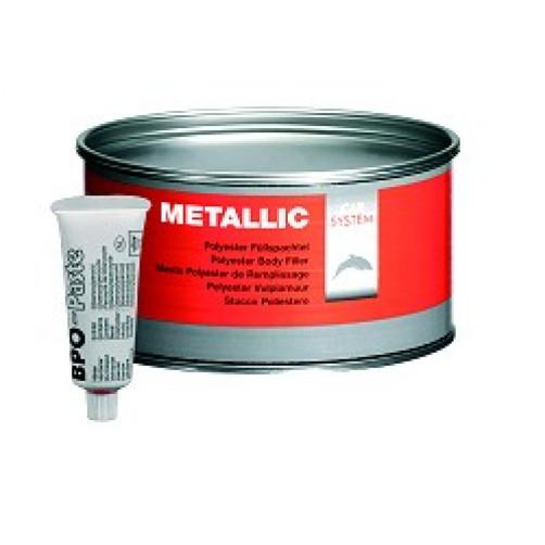 CARSYSTEM Metallic шпатлевка полиэфирная 1 кг