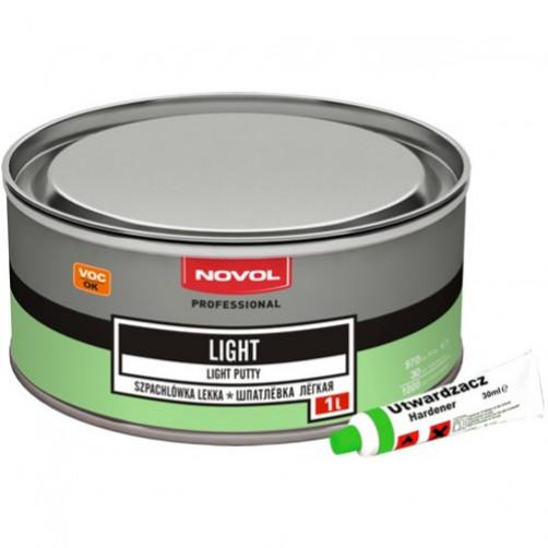 NOVOL LIGHT шпатлевка легкая 1 л
