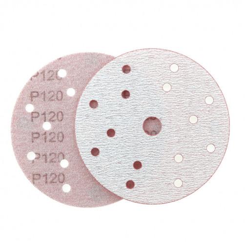 P 120 Абразивный круг IFILM Red ISISTEM, D=150мм, 15 отверстий