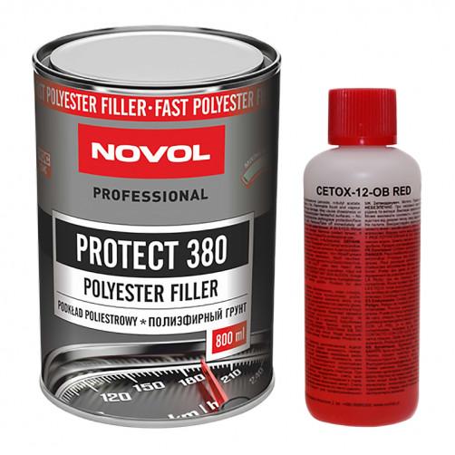 Грунт полиэфирный NOVOL Protect 380, уп. 0,8л+0,08л
