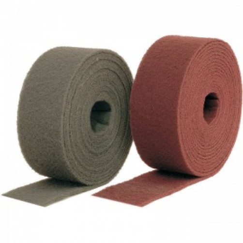 Нетканый абразивный материал в рулоне AVF 320 (красный), 115мм*10м SMIRDEX (шт.)