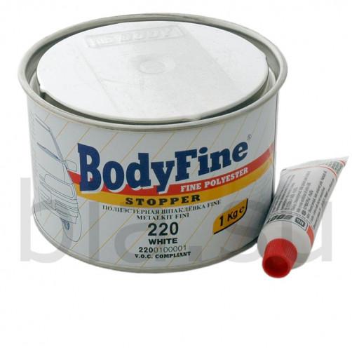 Шпатлевка автомобильная полиэфирная BODY 220 FINE, уп. 1 кг