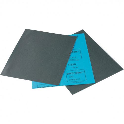 P 180 Водостойкая абразивная бумага SMIRDEX 270, 230*280мм