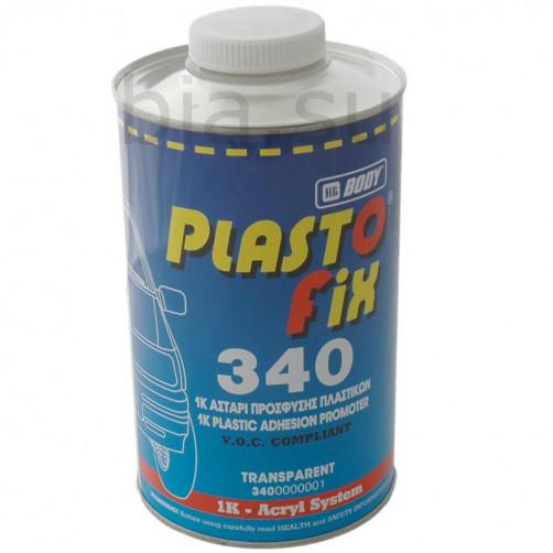 Грунт автомобильный для пластика BODY 340 PlastoFix 1К (бесцветный), уп. 1 л