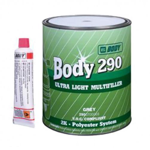 Шпатлевка 290 BODY Ultra Light Multifille (бежевая) уп. 1,0 л