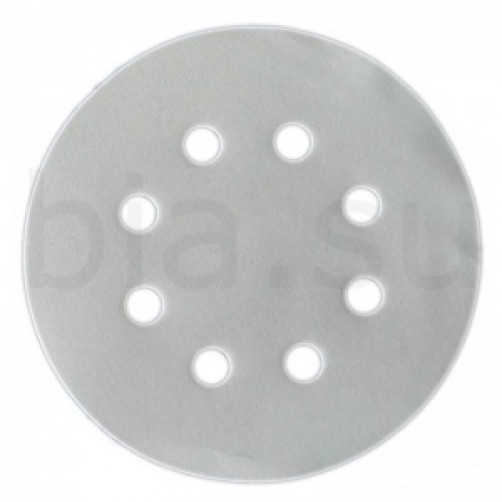 Абразивный шлифовальный круг SMIRDEX 510 White (Смирдекс), P220, D=125мм с 8 отверстиями