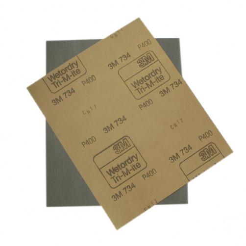 3М 01975 наждачная бумага влагостойкая 230х280 мм, P400