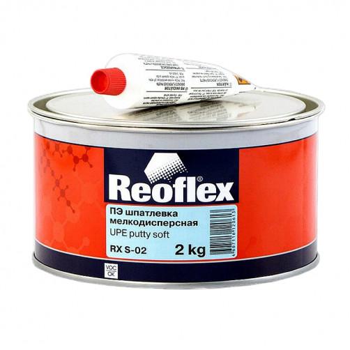 Шпатлевка мелкодисперсная Reoflex Soft RX S-02, уп. 2кг