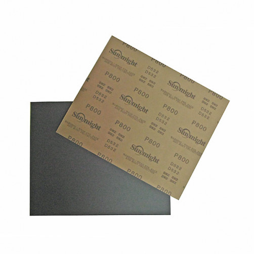 Sunmight наждачная бумага влагостойкая 230х280 мм, P800