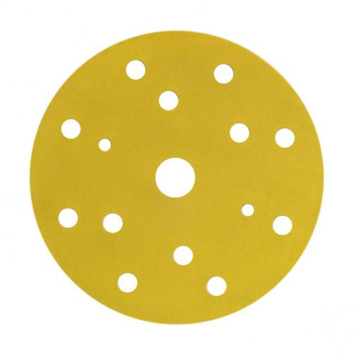 3М 50453 Gold шлифовальный диск, D-150 мм, 15 отв., P400