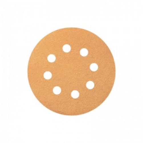 P 80 Абразивный круг SMIRDEX 820 PowerLine, D=125мм, 8 отверстий