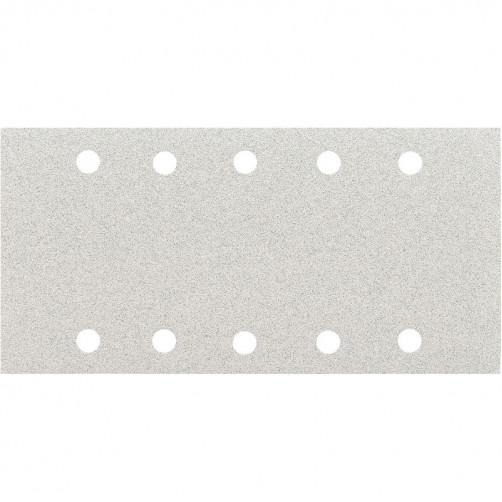 P120 Абразивная бумага SMIRDEX 510 White, 10 отверстий, 115*230мм