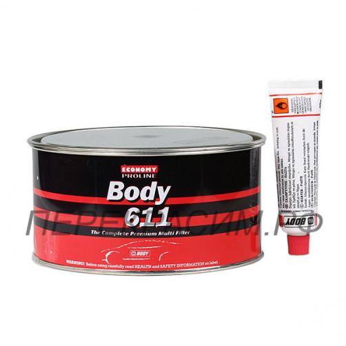 BODY 611 PROLINE шпатлевка полиэфирная 1,8 кг