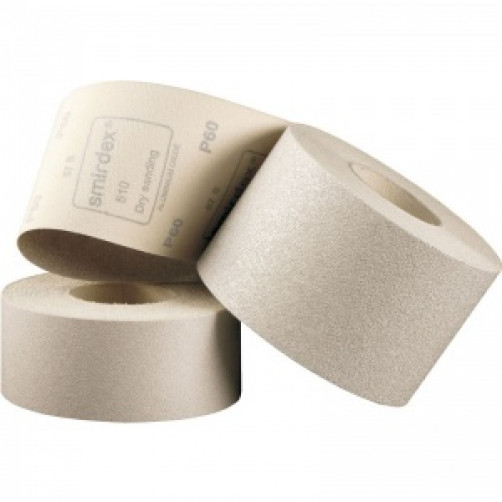 P100 Абразивная бумага в рулоне на липучке SMIRDEX 510, 116мм*25м