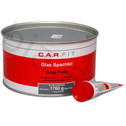 CF 2К Glas Шпатлевка полиэфирная стекловолокнистая C.A.R.FIT (Карфит) уп.1,8 кг