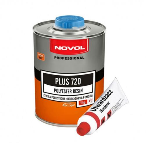 Полиэфирная смола NOVOL PLUS 720, уп. 1л+25гр отвердитель